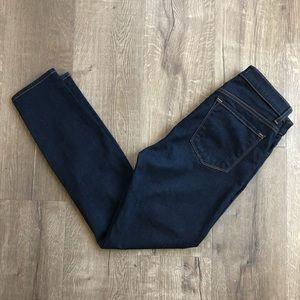 J Brand High Rise Starless Dark Wash Skinny Jean